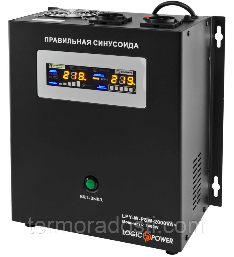 ИБП с правильной синусоидой LogicPower LPY- W - PSW-2000VA+