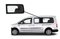Боковое стекло длинная база заднее левое Volkswagen Caddy 2004-2015