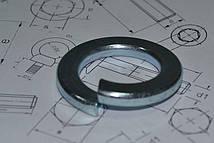 Шайба М22 пружинная оцинкованная ГОСТ 6402-70