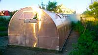 Теплица Веселка 3х4х2м с поликарбонатом GreenHouse Nano 4 мм