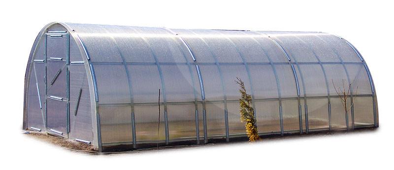 Теплиця Веселка 3х4х2м з полікарбонатом Greenhouse 6 мм