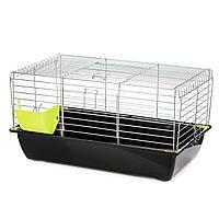 Клетка для декоративных кроликов InterZoo G079 RABBIT 70 ZINC FOLDING (700*400*360мм)