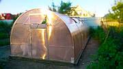 Теплица Веселка 3х6х2м с поликарбонатом GreenHouse Nano 6 мм