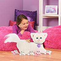 Беременная кошка Ивори с сюрпризом Kitty Surprise Plush Ivory