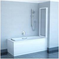 Шторка для ванны складывающаяся двухэлементная Ravak VS2,105 сатин+rain(полистирол)
