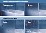 Шторка для ванны складывающаяся двухэлементная Ravak VS2,105 сатин+rain(полистирол), фото 3