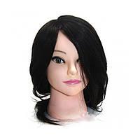 Манекен навчальний для перукарів (натурал) Брюнет 45-50 см