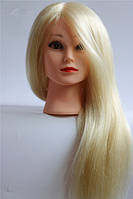 Манекен навчальний для перукарів ( натурал) Блондин 45-50 см