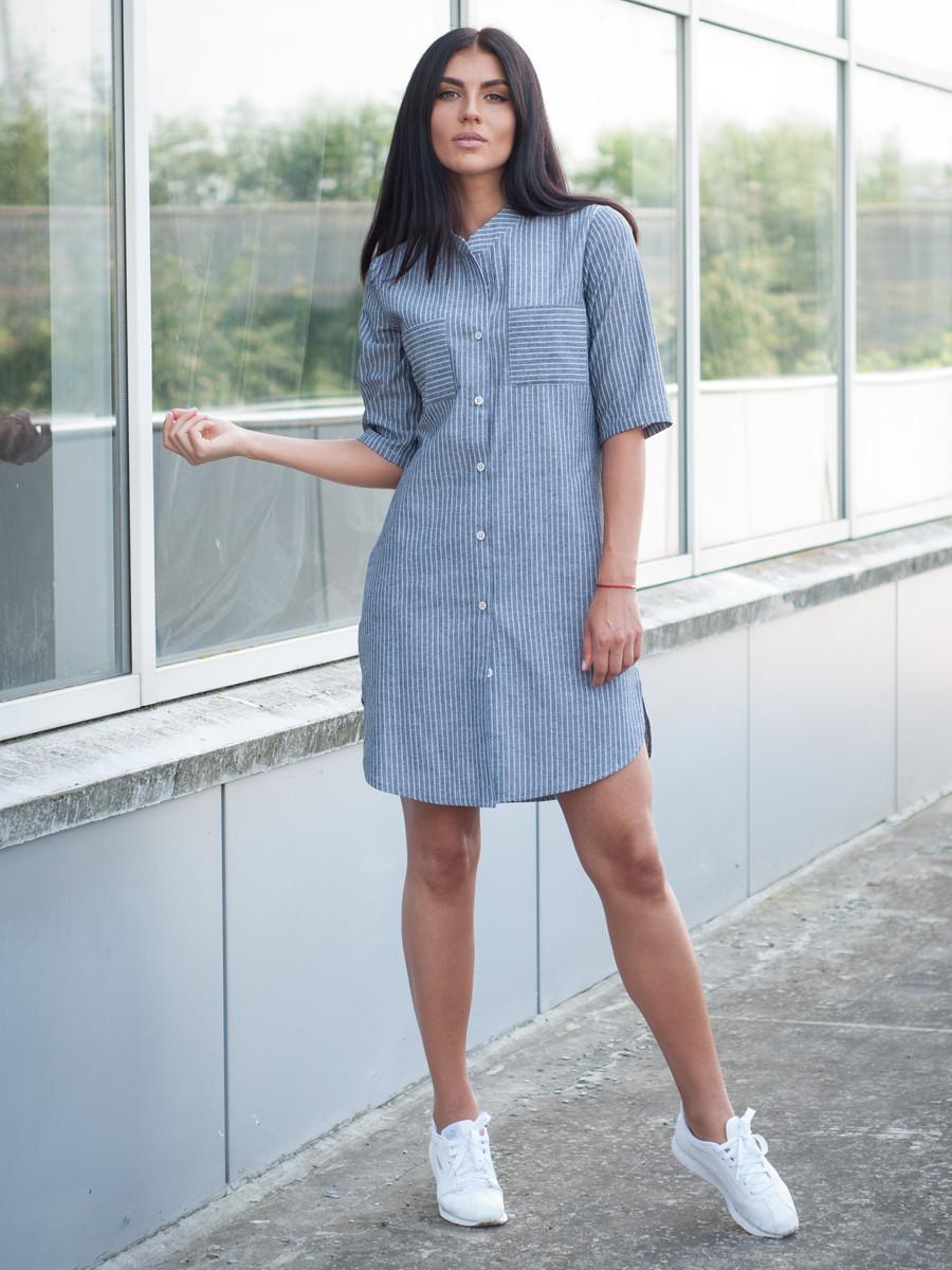 Жіноча сукня-сорочка на літо