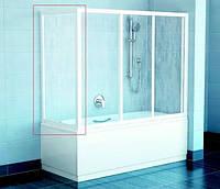 Шторка для ванны (боковая) Ravak APSV-70 белый+transparent(стекло)