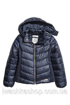 Демисезонная лёгкая куртка на девочку 9 - 10 лет, H&M р. 140