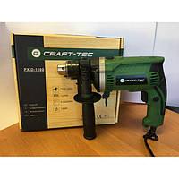 Дрель электрическая Craft-tec PXID-1200 Вт. Крафт-Тек
