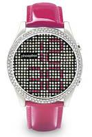 Женские наручные часы Phosphor Appear Pink Crystal, фото 1