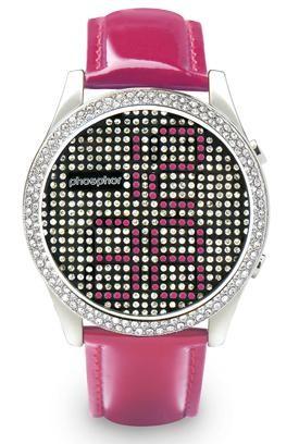 Женские наручные часы Phosphor Appear Pink Crystal