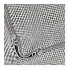 Чехол подушки сидения кресла IKEA DELAKTIG Tallmyra белый серый 503.948.20, фото 2