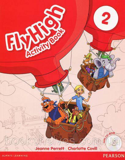 Fly High 2 Workbook + CD-Rom