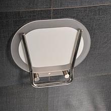 Сидіння для ванної кімнати Ravak Chrome CLEAR/STAINLESS