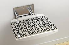 Сидіння для ванної кімнати Ravak Ovo B Decor-Text