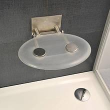 Сидіння для ванної кімнати Ravak Ovo P clear