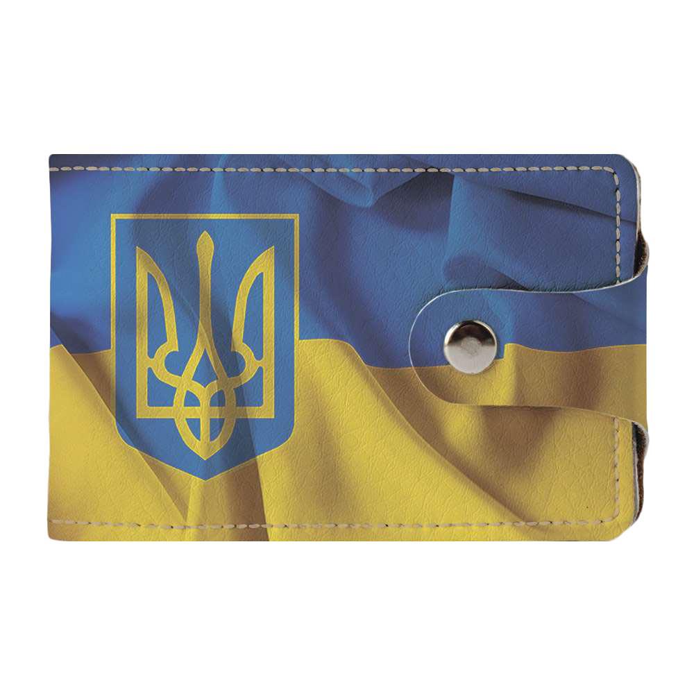 Визитница v.2.0. Fisher Gifts 01 Гражданин Украины (эко-кожа)