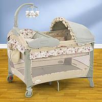 Детские кроватки-манежи,люльки