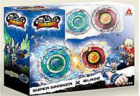 Набор из 2 волчок Infinity Nado Серии Стандарт Nado Super Whisker (Небесный Вихрь) и Blade (Клинок)