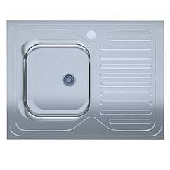 Кухонная мойка UA 60*80-L Decor 0,6мм