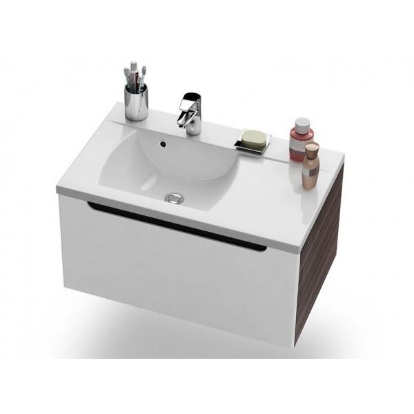 Тумба под умывальник Ravak Classic SD 800 R espresso(Коричневый)/белый
