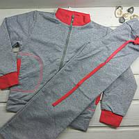 Спортивный трикотажный костюм для девочки на 116 рост