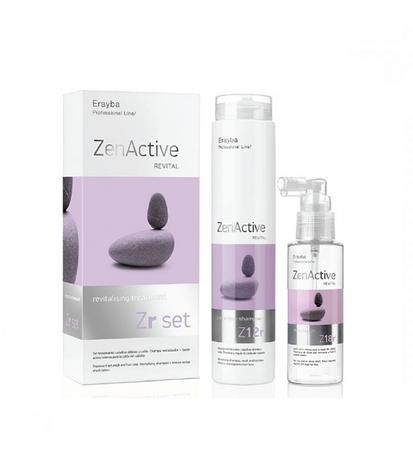 Erayba Набор против выпадения волос - Zen Revital - hair Шампунь 250 мл, Лосьон 100 мл, фото 2
