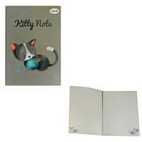 "Блокнот В6 80л # ""Profiplan"" 50605 ""Kitty note"" сер."