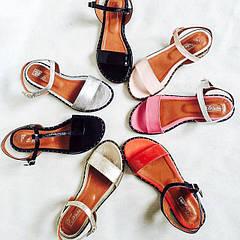 Кожаная обувь ЛЕТО
