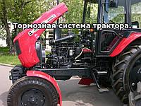 Тормозная система трактора. Принцип работы тормозов трактора