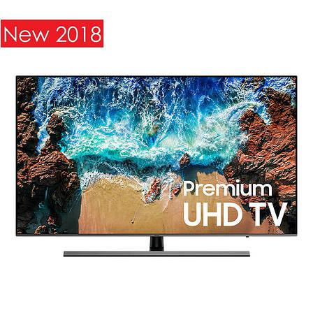 Телевизор Samsung UE55NU8072 (4K UHD Resolution, PQI 2600Hz, Flat Panel, Tizen 4.0, DVB-C/T2/S2 ), фото 2