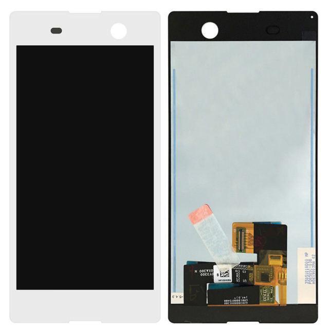 Дисплей для Sony E5603 Xperia M5 Dual Sim/E5606/E5633/E5653  с тачскрином белый Оригинал