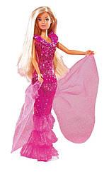 Кукла Steffi в розовом платье Simba 5732465 A