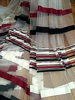 Тюль разноцветная