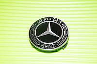 Колпачки на диски Mercedes Мерседес 75 мм новый стиль 2018 A 170 400 00 25 B66470120