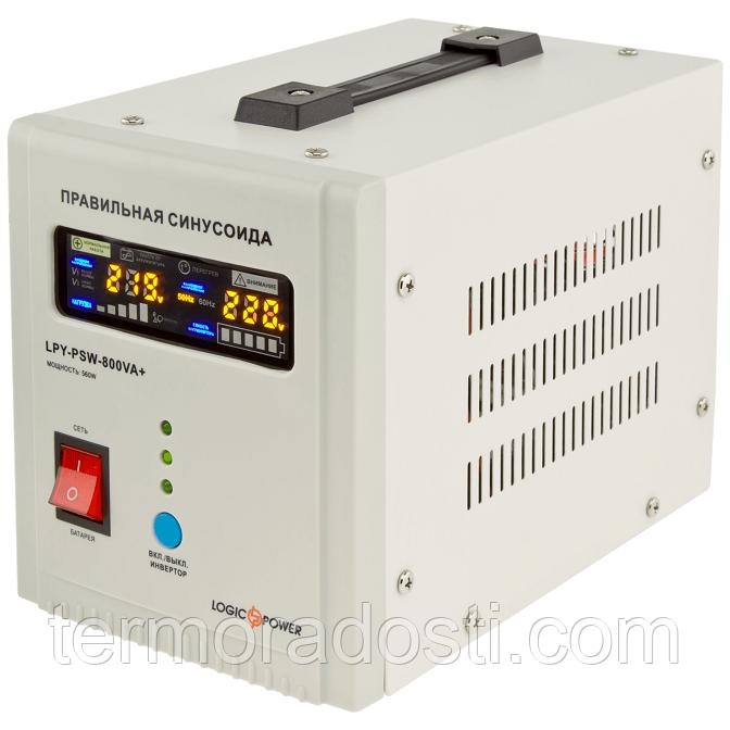 ИБП с правильной синусоидой LogicPower LPY-PSW-800VA+