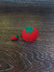 Игольница помидор D=60 мм, красная