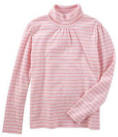 Водолазка OshKosh Striped Turtleneck, розовая полоска, на 8 лет, фото 1