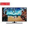 Телевизор Samsung UE49NU8042 (4K UHD Resolution, PQI 2100Hz, Flat Panel, Tizen 4.0, DVB-C/T2/S2 )