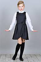 Школьный модный сарафан