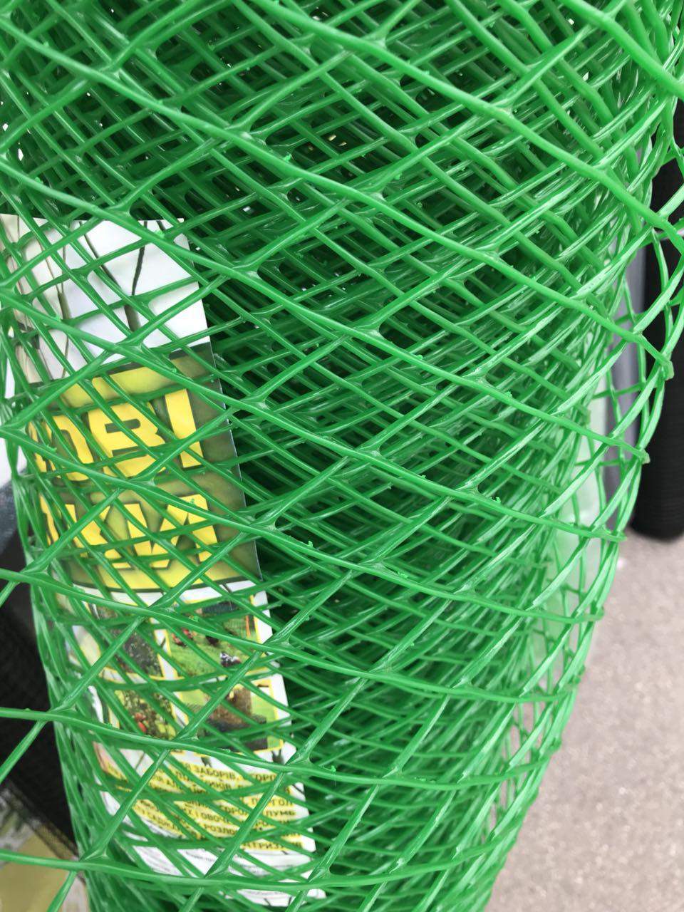 Пластикова сітка забірна 1,5*10м (20*20мм)