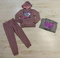 Трикотажный костюм 2 в 1 для девочек, Crossfire, 98-128 см,  № F-2009, фото 1
