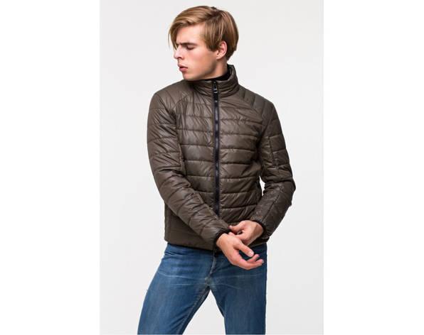 Демисезонная мужская куртка T-101 хаки (373), фото 2