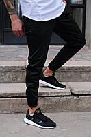 Мужские спортивные штаны черные бренд ТУР модель Рокки от Производителя