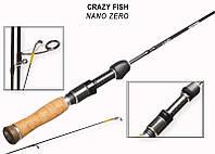 "Спінінг Crazy Fish Nano Zero NSR582S SXUL (0,2-1,5 g 172cm 5'8"" 0,15-0,3 РЕ Slow Action)"