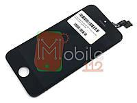 Модуль для iPhone 5S, SE (дисплей + тачскрин), черный, копия высокого качества TianMa