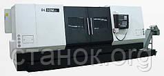 DMTG DL M токарный станок с ЧПУ по металлу с наклонной станиной верстат дмтг дл